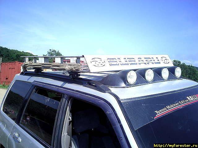 Экспедиционный багажник на субару форестер